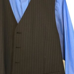 Pronto Uomo Suits & Blazers - NWOT Men's Warehouse Pronto Pinstripe 3pc Suit